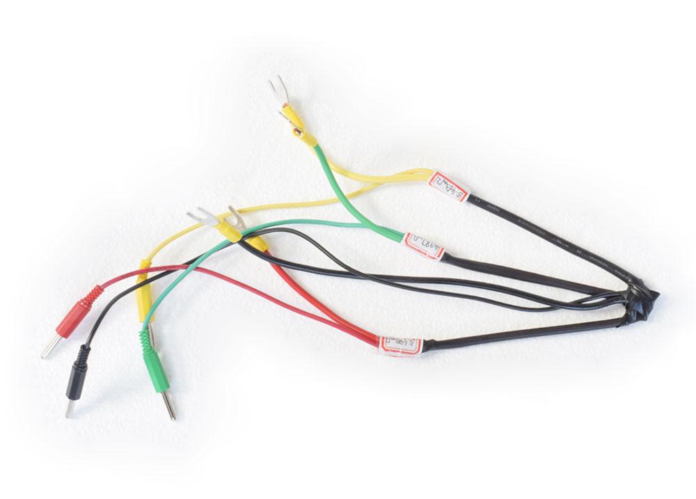 YTC336-10D三相直流电阻测试仪连接线