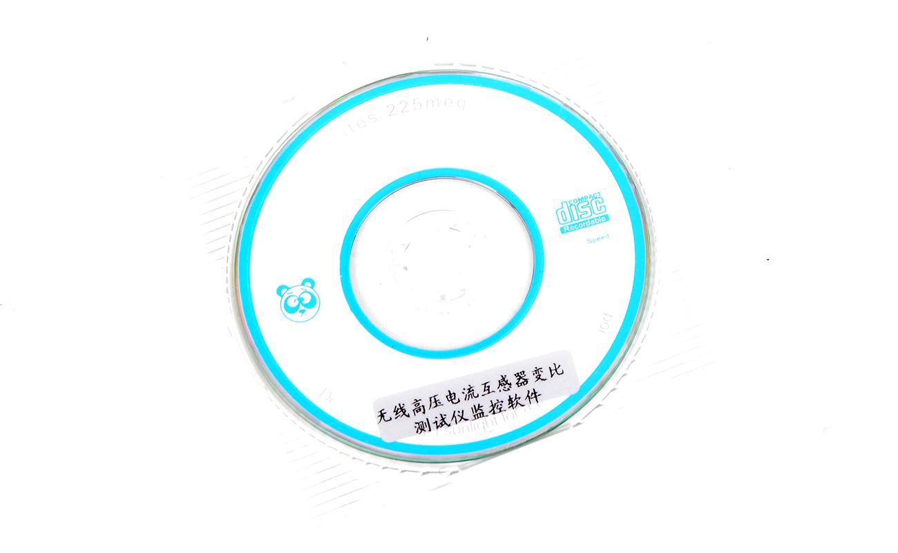 YTC2330高低压电流互感器变比测试仪光盘