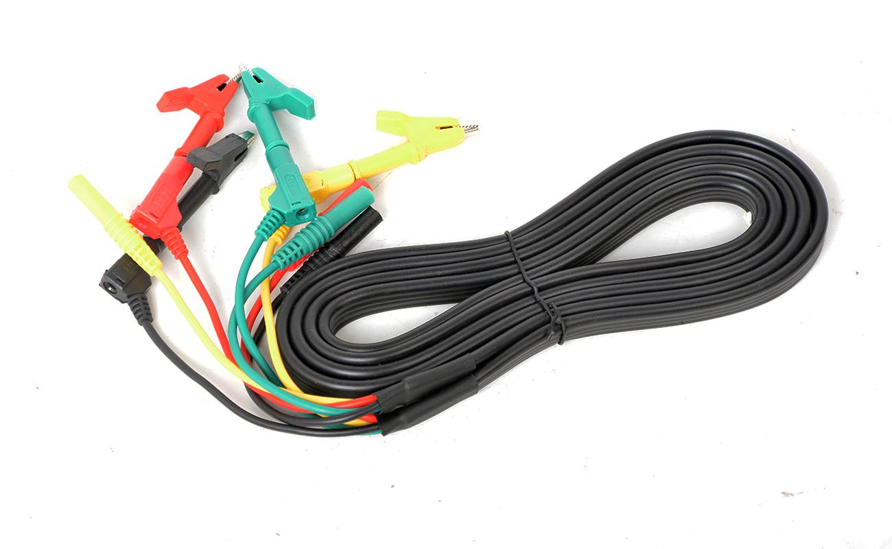 YTC2220S三相钳形相位伏安表连接线2