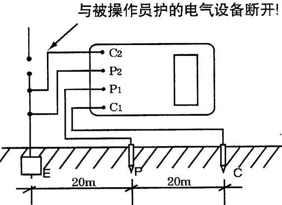 多功能接地电阻测试仪可测量土壤电阻率测试仪