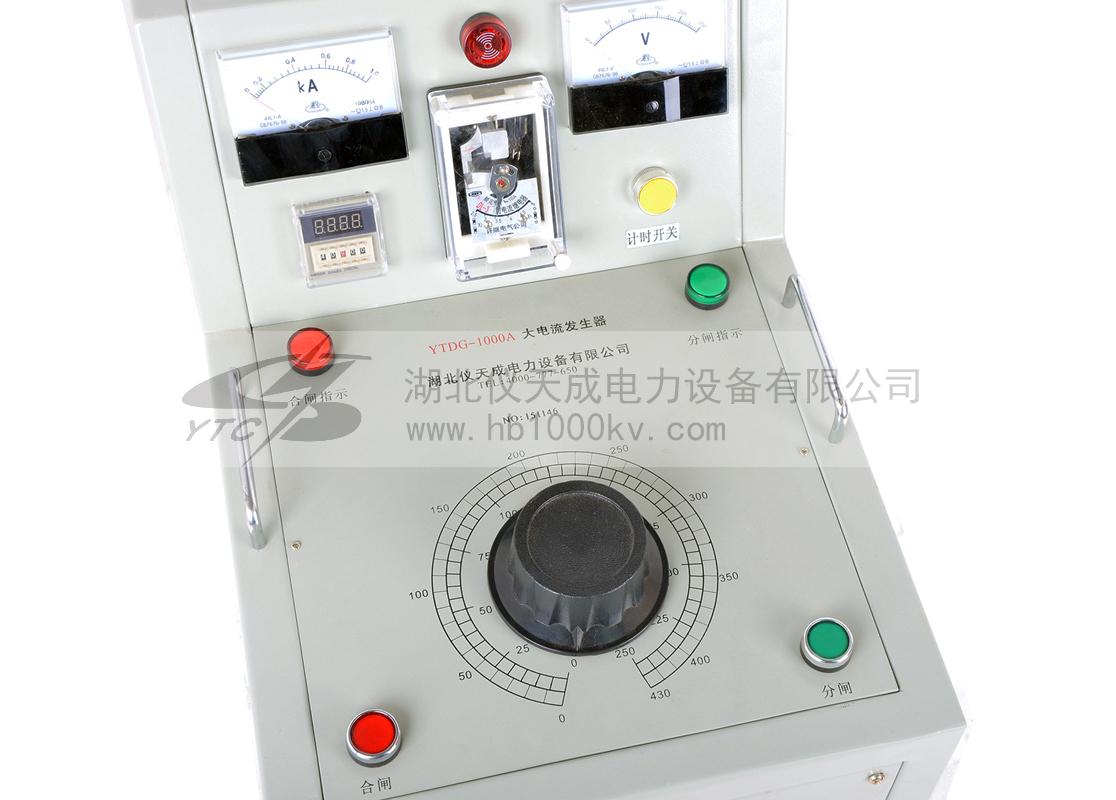 YTCDG大电流发生器台式面板
