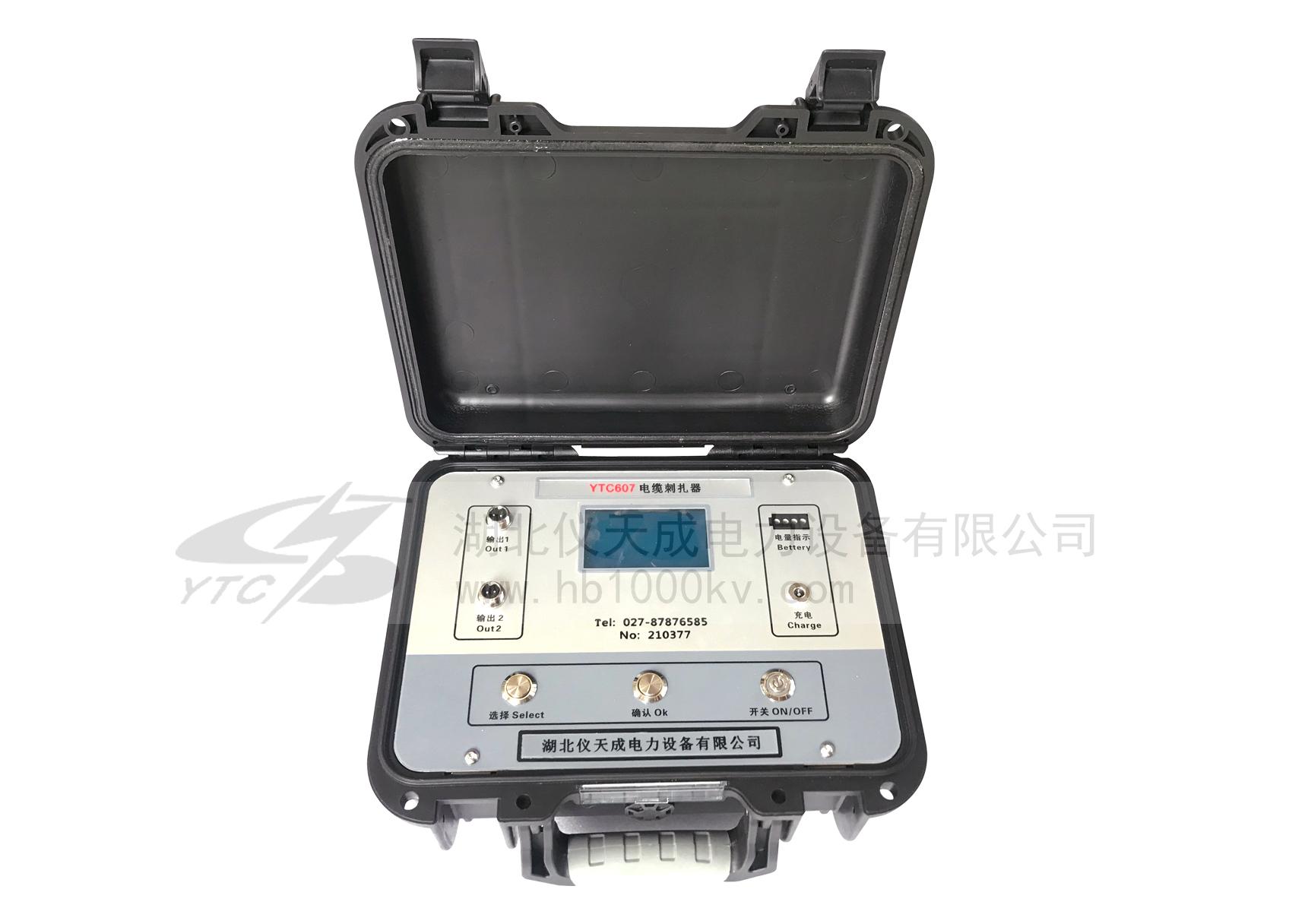 YTC607电缆刺扎器主机