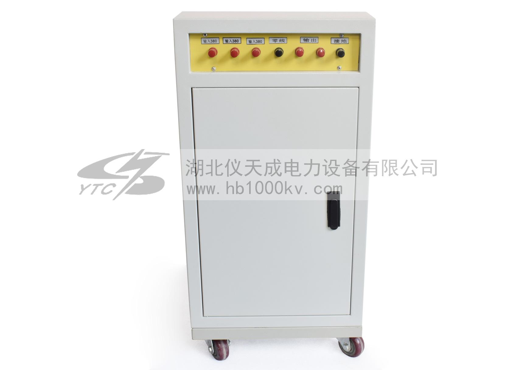 YTC1102xi列三beipin电源发生器bei面图