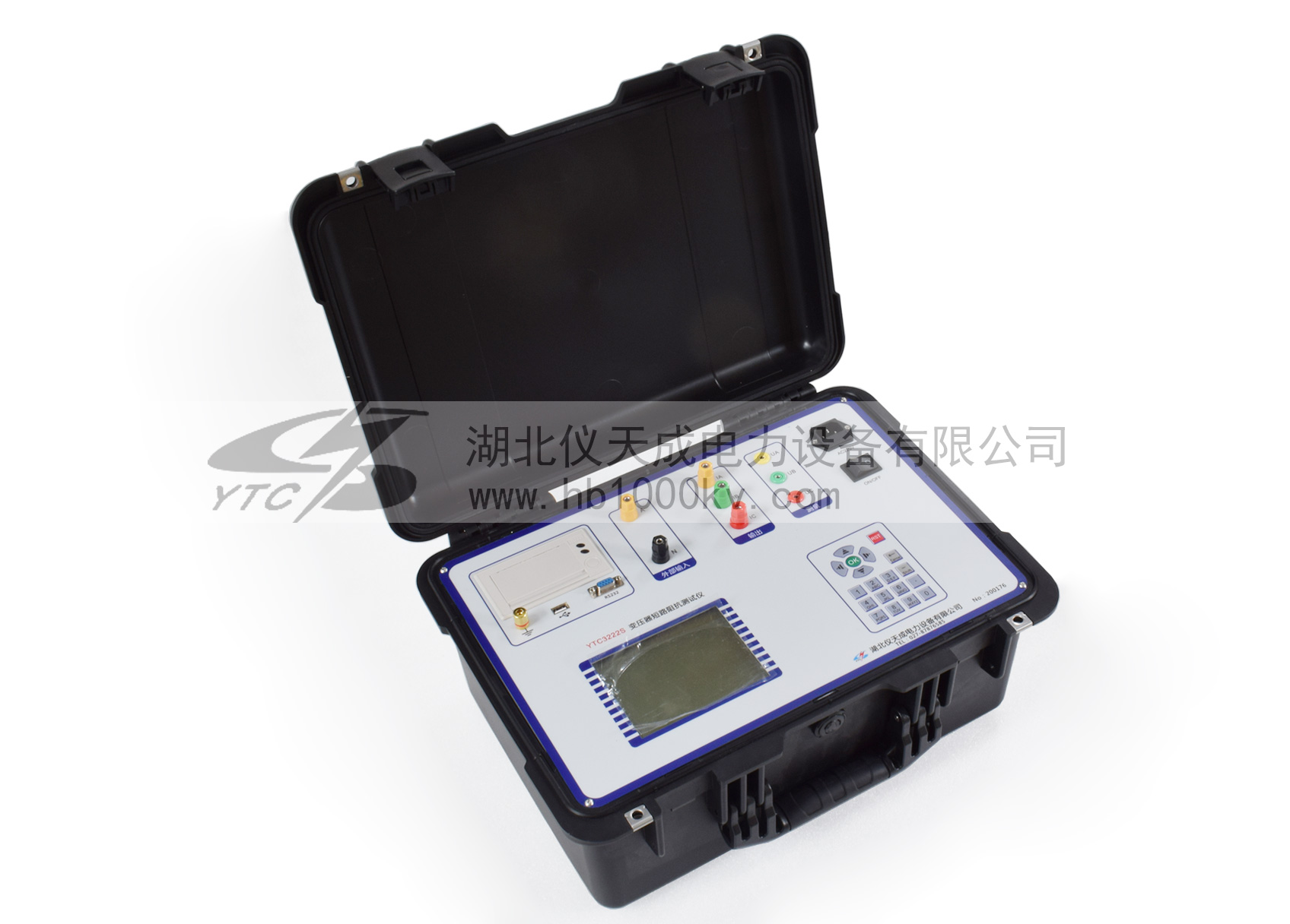 YTC3222S变压器短路阻抗测试仪